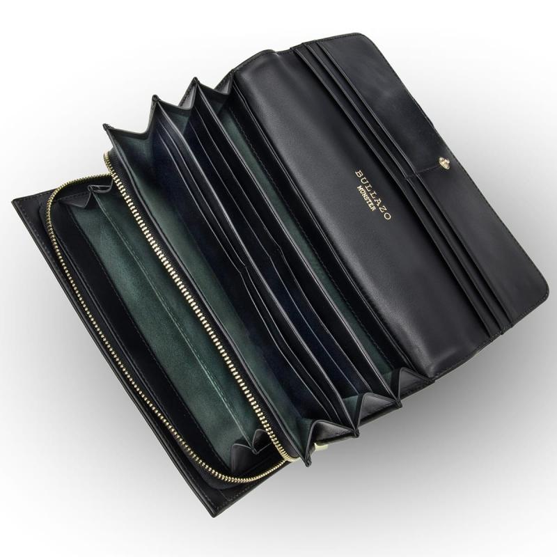 038b991e2c1d6a Leder Portemonnaie Damen - extra groß mit viel Platz und RFID Schutz