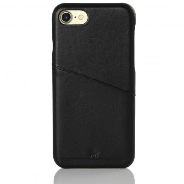 iPhone 7 8 Huelle Leder Backcover Kartenfach BULLAZO