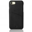 iPhone 7 8 Hülle aus Leder - Backcover mit Kartenfach