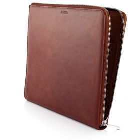 leather portfolio A4 case folder