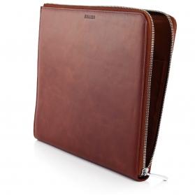 leather portfolio A4 case folder