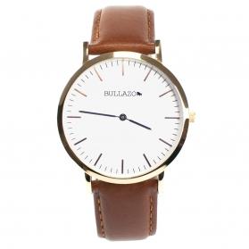 Klassische Uhr 40mm mit Leder Wechselarmband