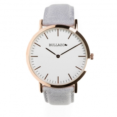 leather strap watch BULLAZO Sencillo