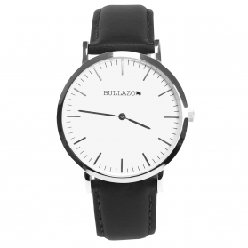 40 mm watch with interchangable leather straps