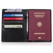 Reisepasshülle aus Leder A6 mit RFID Schutz