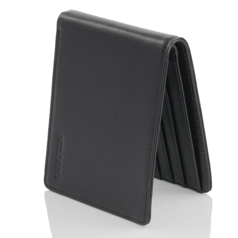 8d253e1290b4c Ultra slim Herren Geldbörsen ohne Münzfach mit RFID Schutz