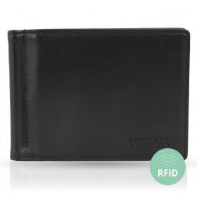 Geldboerse mit Geldklammer ohne Muenzfach