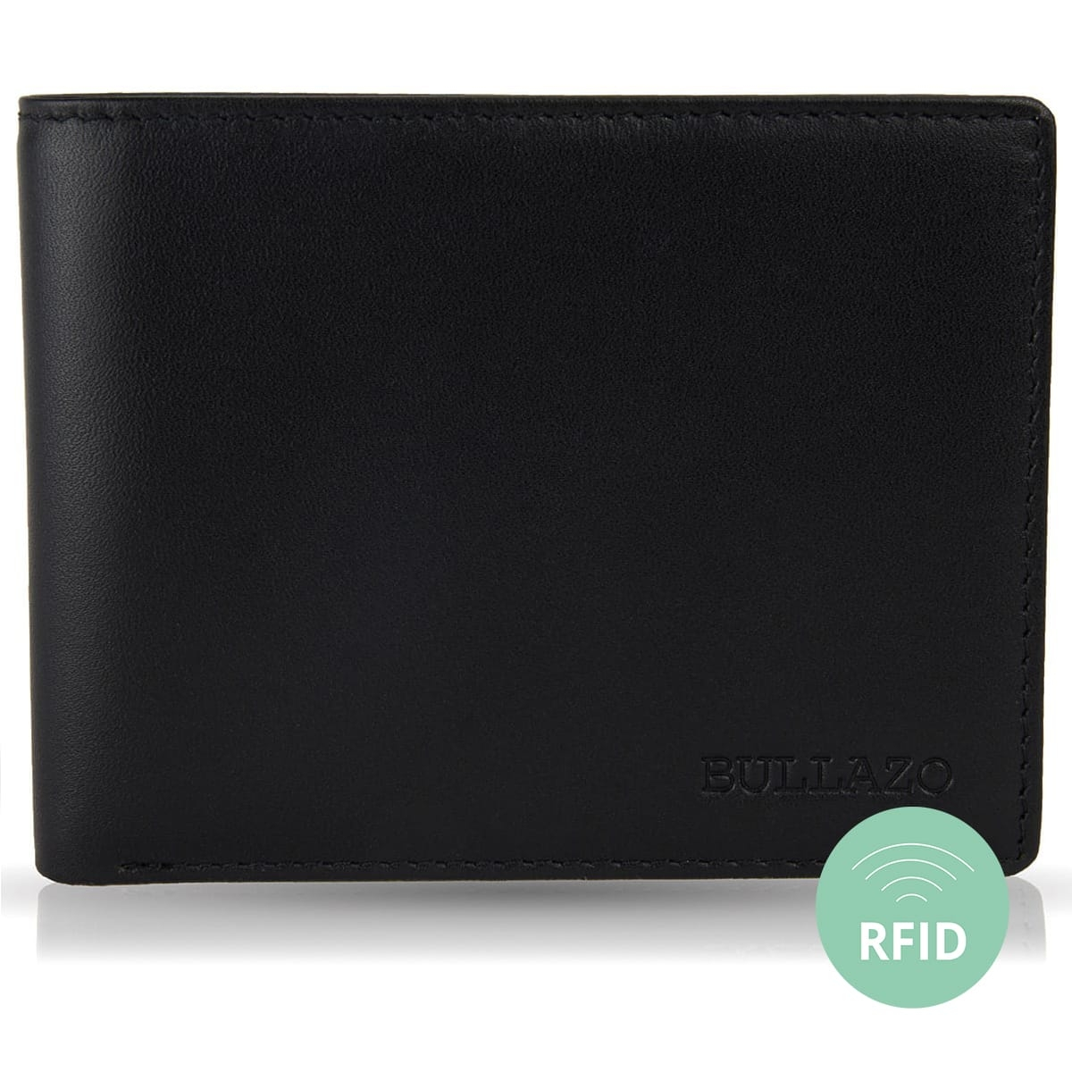 8ef59a498973 Ultra slim Wallet for Men without coin pocket. RFID safe. | BULLAZO