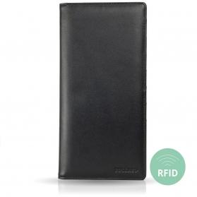Passport Organizer and Travel Wallet with RFID Blocker
