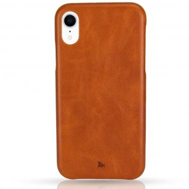 iPhone XR Hülle aus Leder - edles schlankes Design