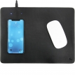 Wireless Charging Mousepad - Leder Mousepad mit QI Induktion