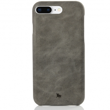 iPhone 8 Plus Leder Case - schlankes Design