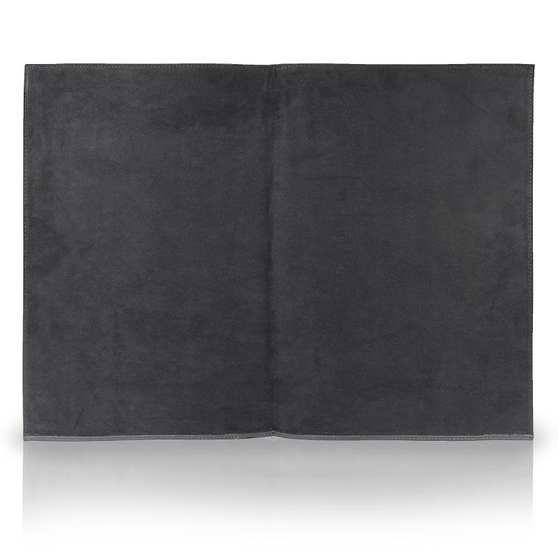BULLAZO DOCUMENTO Lederumschlag Dokumentenmappe für A4 Dokumente aus Leder