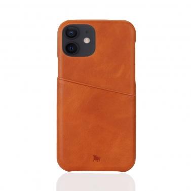 iPhone 12 Mini Leder Hülle mit Kartenfach