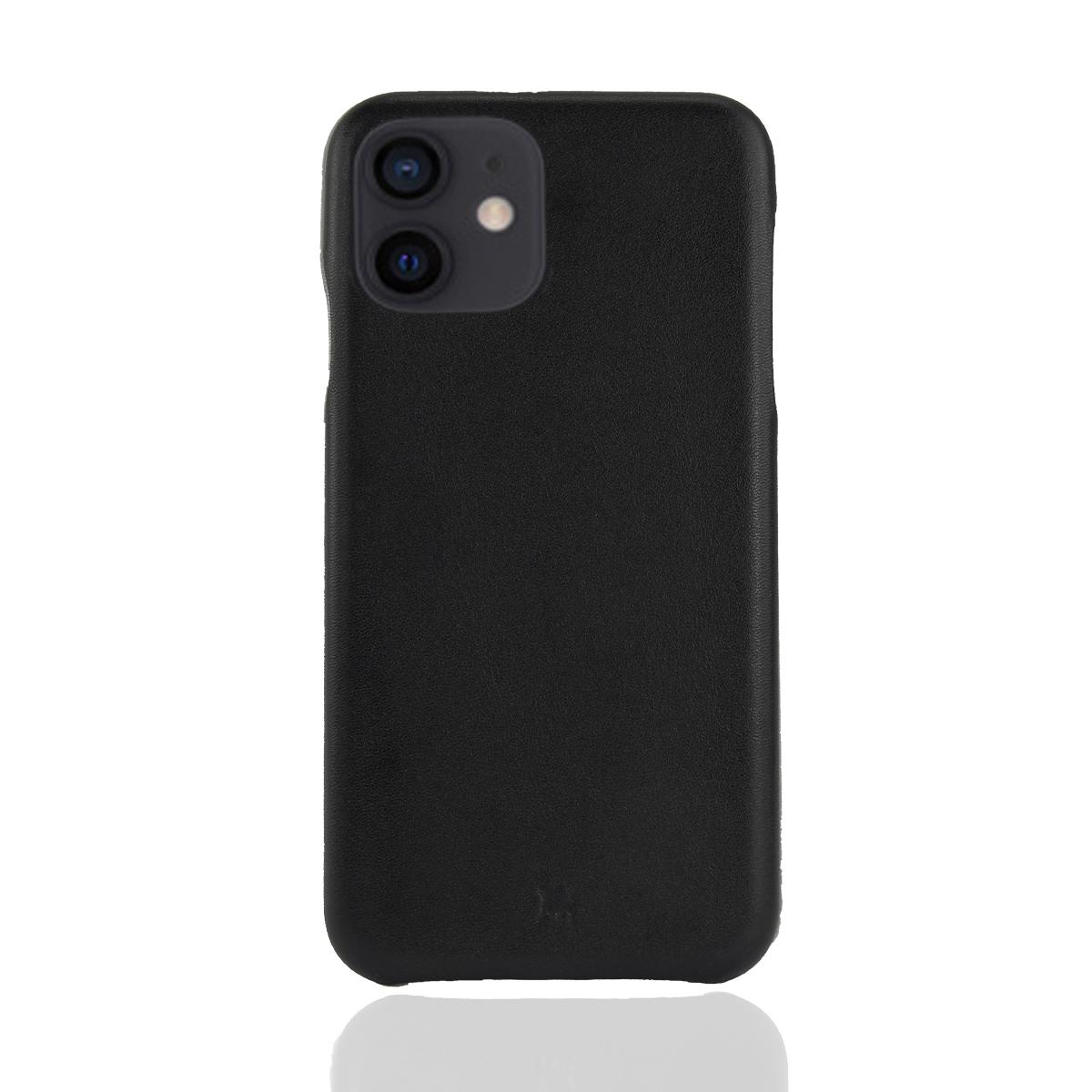 iPhone 12 XII Leder Hülle - slim Design